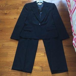Navy Liz Claiborne Pant Suit